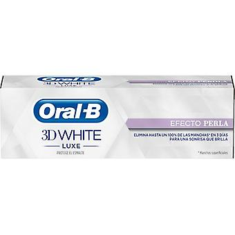 Oral B 3D Dental Paste White Luxe Pearl Effect 75 ml