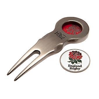 England RFU Divot Tool And Marker
