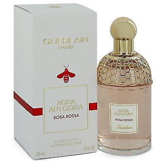 Aqua allegoria rosa rossa eau de toilette spray by guerlain 544314 125 ml