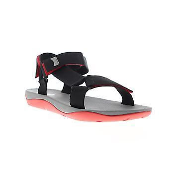 Camper Match  Mens Black Canvas Sport Sandals Shoes
