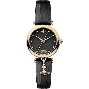 Vivienne Westwood Trafalgar Orb Charm Black Ladies Watch VV108BKBK