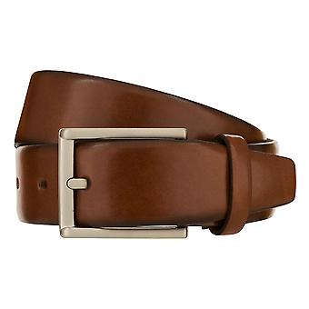 MONTI LONDON Belt Men's Belt Leather Belt Cognac 8486