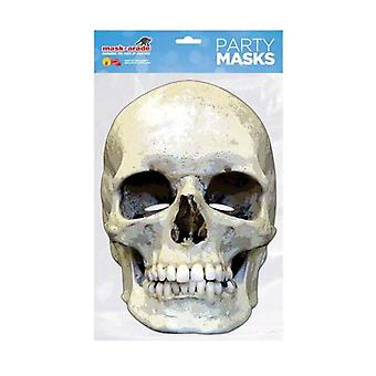 Schädel Horror Gesichtsmaske
