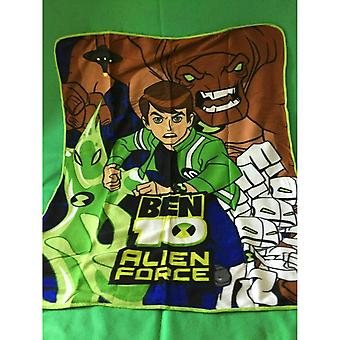 Ben 10 Childrens/Kids Fleece Throw Blanket