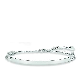 Thomas Sabo Love Bridge Silver Zirconia Bracelet LBA0042-051-14