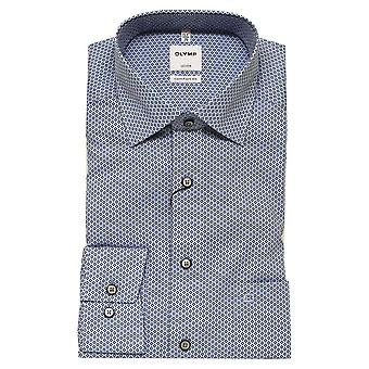 OLYMP Olymp Blue Shirt 1114 54 11