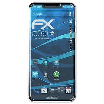 atFoliX 3x Protective Film compatible with DOOGEE BL5500 Lite Screen Protector clear&flexible