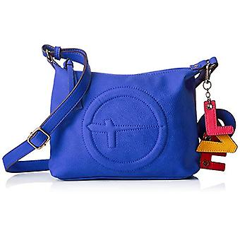 Tamaris Fee Crossbody Bag S - Borse a tracolla Donna Blu (Blue) 6x19x24 cm (W x H L)