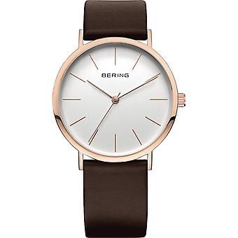 Bering Unisex reloj de pulsera Slim Classic - 13436-564 cuero