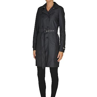 Fay Ezgl045028 Women's Blue Cotton Trench Coat