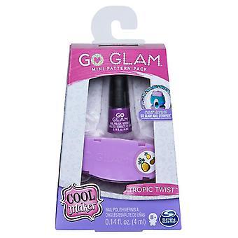 Cool Maker Go Glam Nails Fashion Pack Mini - Tropic Twist