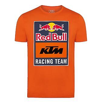 Red Bull KTM Racing Team Men's Emblem T-Shirt | Orange
