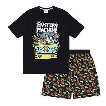 Scooby Doo Mystery Machine Officiële Gift Boys Kids Loungewear Korte Pyjama's