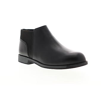 Camper Bowie  Womens Black Leather Slip On Casual Dress Boots