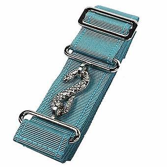 Masonic belt extender sky blue