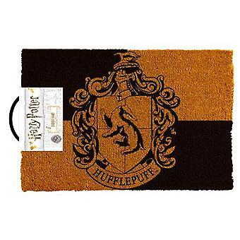 Harry potter - hufflepuff crest doormat