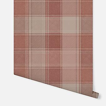 904102 - Urban Sjekk Rust - Arthouse Wallpaper