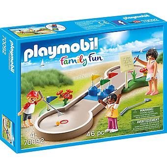 Playmobil 70092 Family Fun Camping Mini-Golf