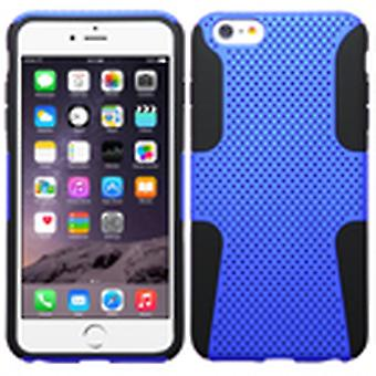 ASMYNA Astronoot Protector Case for iPhone 6s Plus/6 Plus - Dark Blue/Black