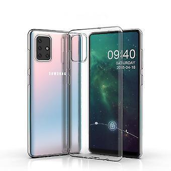 Ultra Dunne zachte shell TPU Samsung Galaxy A71 doorschijnend