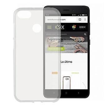 Mobilt omslag Xiaomi Redmi 4x KSIX Flex TPU Transparent