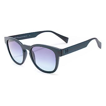 """משקפי שמש יוניסקס איטליה עצמאית IS026-021-000 (51 מ""""מ) כחול (ø 51 מ""""מ)"""