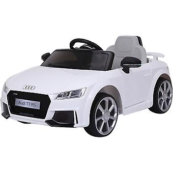 Licencia Audi TT RS 12V Electric Ride on Car White