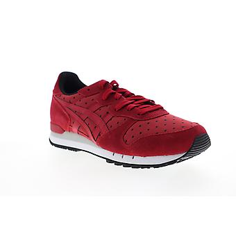 Onitsuka Tiger Alvarado Womens Red Camur Lifestyle Sneakers Shoes