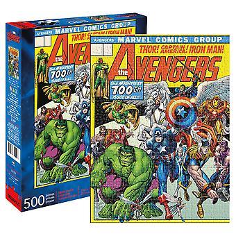 アベンジャーズ第100号コミックカバー500ピースパズル