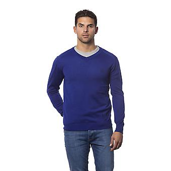 Rich John Richmond Blueroyal Sweater -- RI81272880