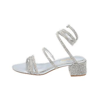 Dune London MICKA Women's Sandals Silver Flip-Flops Summer Shoes