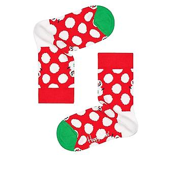 Happy Socks Kids' Big Dot Snowman Socks