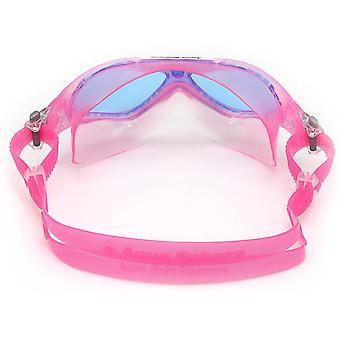 Aqua Sphere Vista Junior Swim Goggle - Blue Lens - Pink