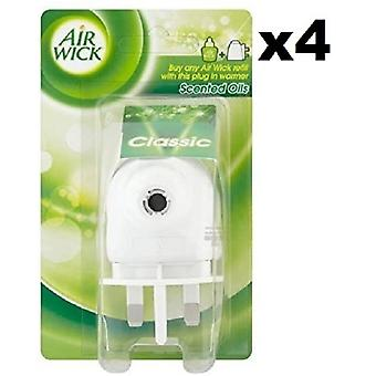 4 x Air Wick Electric Plug In Air Freshner Diffuser Machine/Unit/Device