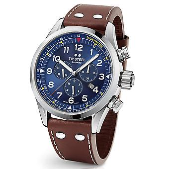 TW Steel Swiss Volante SVS201 chronograph watch 48mm