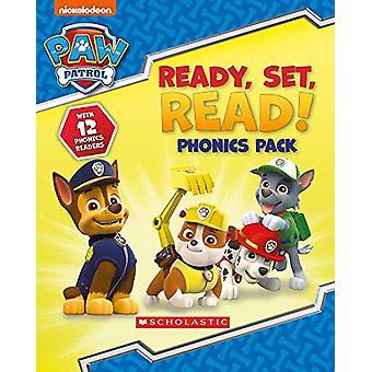 Ready - Set - Read! 12 book phonics box by Jenny French - 97814071929