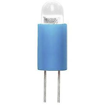 Barthelme Dioda LED Bi-pin 3.17 mm Niebieski 6 V DC 70117114