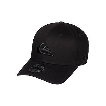 Quiksilver and New Era Mens Cap ~ M & W black