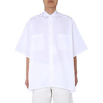Givenchy Bm60hr109f100 Männer's weiße Baumwolle Shirt