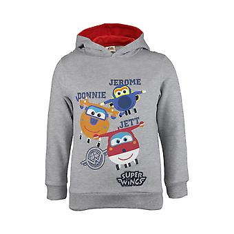 Super Wings Jett, Donnie and Jerome Girls Pullover Hoodie | Official Merchandise