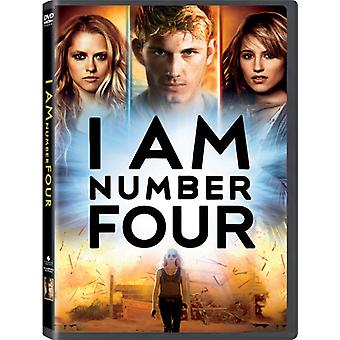 I Am Number Four [DVD] USA import
