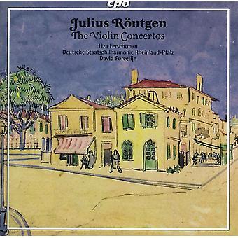 Julius Roentgen - Julius R Ntgen: Importation des USA les Concertos de violon [CD]
