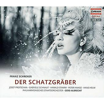 F. Schreker - Franz Schreker: Der Schatzgr Ber [CD] USA import