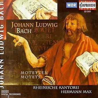 J.L. Bach - Johann Ludwig Bach: Motets [CD] USA import