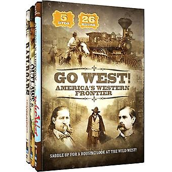 Go West!-America's Western Frontier [DVD] USA import