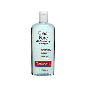 Neutrogena clear pore oil-controlling astringent, 8 oz *