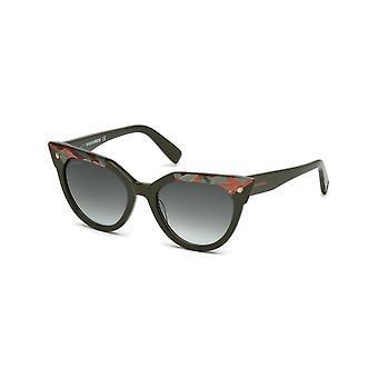 Dsquared2 - Akcesoria - Okulary przeciwsłoneczne - DQ0277-98P - Kobiety - darkolivegreen,karmazyn