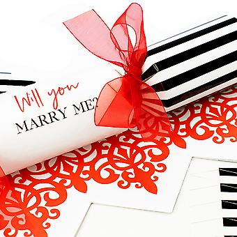 Single The Proposal Crackers - Make & Fill Your Own Kit