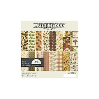 Authentique Gracious 8x8 Inch Paper Pad
