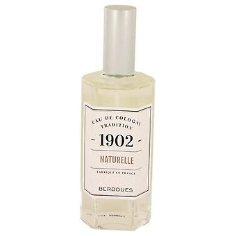 1902 Natural Eau De Cologne Spray (Unisex-unboxed) By Berdoues 4.2 oz Eau De Cologne Spray